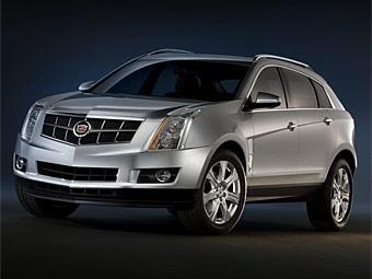 Представлены первые фотографии нового Cadillac SRX