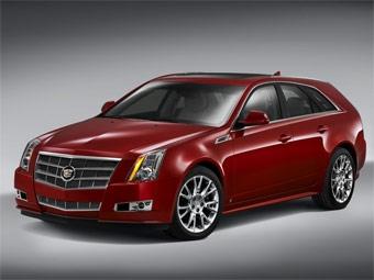 Универсал Cadillac CTS дебютирует в Калифорнии