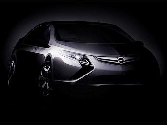 Opel готовит к дебюту электрокар Ampera