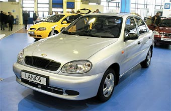 В России будут собирать автомобили Chevrolet Lanos