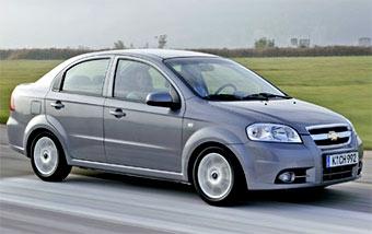 Собирать Chevrolet Aveo в России будут украинцы