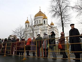 Московские дороги парализованы из-за траура по патриарху