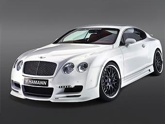 Ателье Hamann займется тюнингом Bentley Continental GT