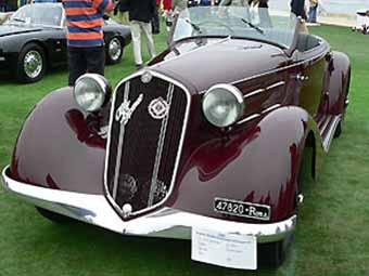 Спорткар Муссолини выставлен на аукцион
