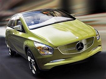 Компания Mercedes-Benz показала прототип нового B-Class