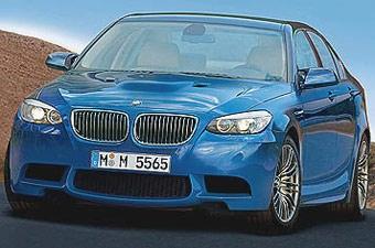 BMW M5 нового поколения появится в 2011 году