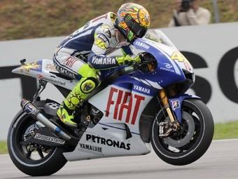 Валентино Росси стал девятикратным чемпионом мира по мотогонкам