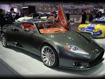 Голландская компания Spyker перенесет завод в Великобританию