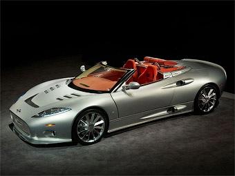Марка Spyker превратила спорткар C8 Aileron в родстер