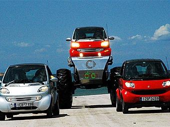 """Mercedes-Benz поделится с Renault платформой """"Смарта"""" и двигателями"""
