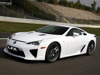 Суперкар Lexus LFA получит трековую версию