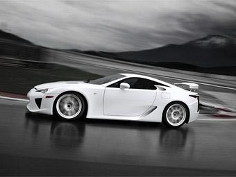 Суперкар Lexus LF-A получил 560-сильный мотор