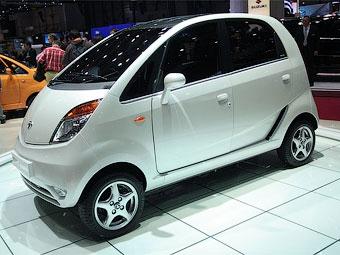 В Индии первый экземпляр Tata Nano обрел хозяина