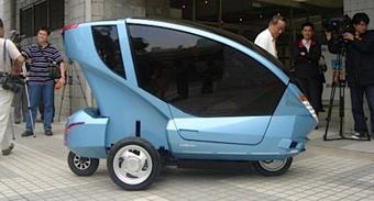 Китайские ученые разработали городской электромобиль