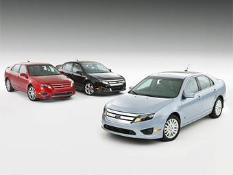 Ford Fusion стал автомобилем года в США
