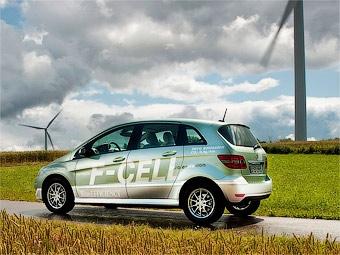 Водородный автомобиль Mercedes-Benz готов к запуску в серию