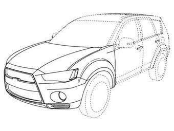 Обновленный Mitsubishi Outlander станет похожим на Evolution