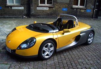 Renault выпустит спортивный родстер к 2010 году