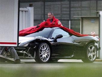 В Италии сфотографировали преемника суперкара Ferrari F430