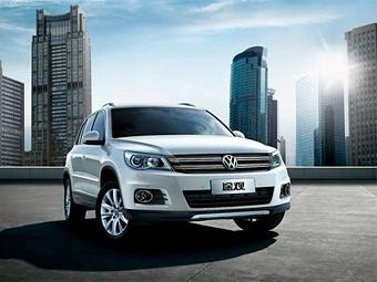 Обновленный VW Tiguan показали в Китае