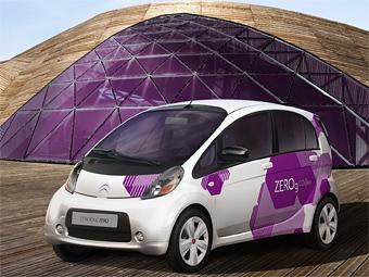 Компания Citroen показала свою версию электрокара Mitsubishi iMiEV
