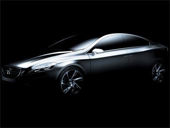 Volvo начинает раскрывать внешность прототипа нового S60