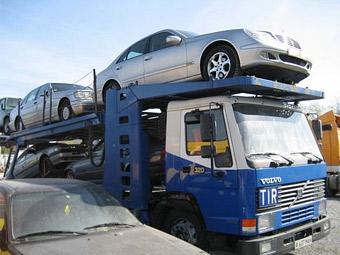 Импорт автомобилей в сентябре снизился на 20 процентов