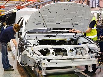 Темпы падения автопроизводства в Европе резко замедлились