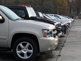 Продажи автомобилей в Латвии упали в пять раз