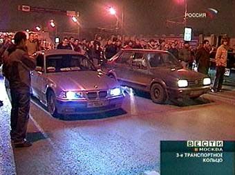 В Москве не удалось провести первые легальные уличные гонки