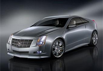 Cadillac представил купе на базе CTS
