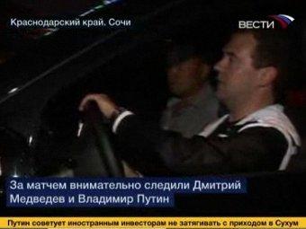 Медведева обвинили в нарушении правил дорожного движения