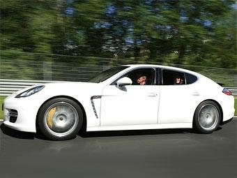 Хэтчбек Porsche Panamera Turbo установил рекорд Нюрбургринга