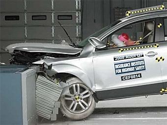 Audi Q7 получил высшую оценку в краш-тестах