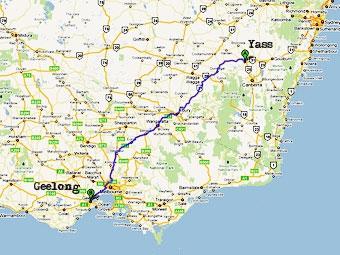 Поездка в магазин обернулась для австралийца 600-километровым путешествием