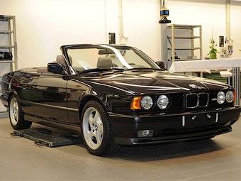 Компания BMW показала уникальный кабриолет M5