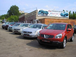 На Москву и Питер приходится 47 процентов продаж иномарок в России