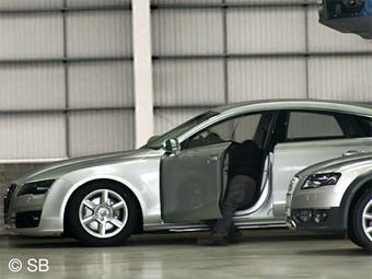 Большое пятидверное купе Audi представят на Московском автосалоне