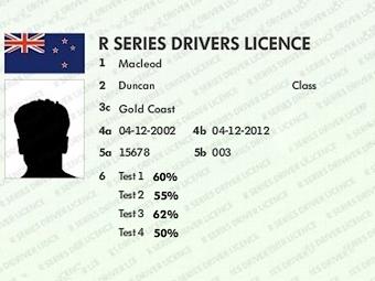 Студент в Новой Зеландии подделал и продал 250 водительских удостоверений