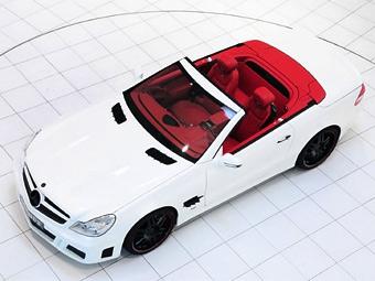 Brabus представил 750-сильный родстер Mercedes-Benz SL