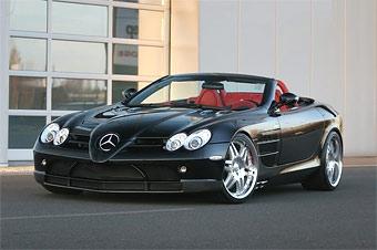 Ателье Brabus построило эксклюзивный Mercedes SLR Roadster
