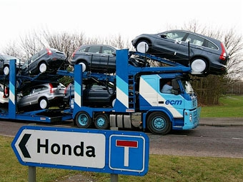 Импорт автомобилей из Японии в Россию сократился в девять раз