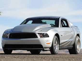 Компания Ford будет продавать Mustang для дрэг-рейсинга