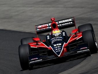 Джастин Уилсон выиграл первую гонку для Dale Coyne в серии IndyCar