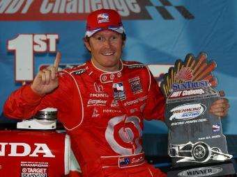 Пилоты Ganassi дублем выиграли гонку IndyCar Series в Ричмонде