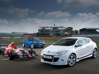 Renault посвятила своей гоночной серии спецверсии Clio и Megane