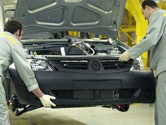 """""""Автофрамос"""" приостановит выпуск Renault Logan"""