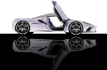 На Британском автосалоне представят новый суперкар