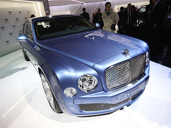 Из Bentley Mulsanne сделают купе и кабриолет