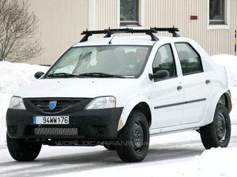 Dacia начала испытания полноприводного Logan